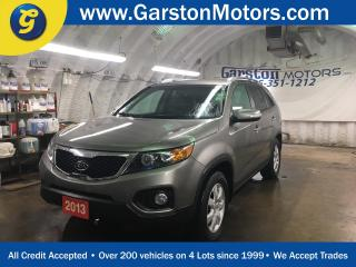 Used 2013 Kia Sorento LX*V6*PHONE CONNECT*HEATED FRONT SEATS*KEYLESS ENTRY*POWER WINDOWS/LOCKS/MIRRORS*FOG LIGHTS*CLIMATE CONTROL*TRACTION CONTROL* for sale in Cambridge, ON