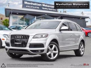 Used 2011 Audi Q7 3.0T QUATTRO SUPERCHARGED |NAV|PANO|7PASS|CAM|PHON for sale in Scarborough, ON