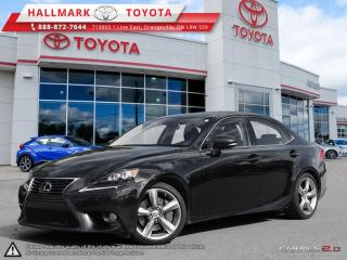 Used 2014 Lexus IS 350 AWD 6A for sale in Mono, ON