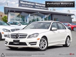 Used 2012 Mercedes-Benz C250 4MATIC |NAV|ROOF|BLUETOOTH|NOACCIDENTS for sale in Scarborough, ON