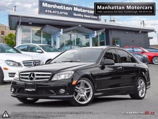 Used 2010 Mercedes-Benz C 350 C350 4MATIC AMG PKG |NAV|CAMERA|PANO|LOADED for sale in Scarborough, ON