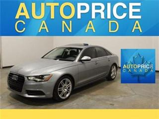 Used 2014 Audi A6 2.0 PROGRESS NAVIGATION MOONROOF for sale in Mississauga, ON