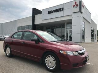 Used 2009 Honda Civic DX-G ** SOLD SOLD SOLD** for sale in Owen Sound, ON