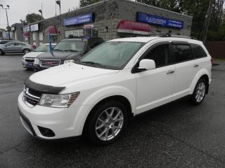 Used 2013 Dodge Journey R/T * AWD * LEATHER * NAV * REV CAM for sale in Windsor, ON