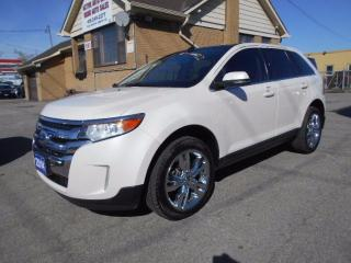Used 2014 Ford Edge Limited AWD Navigation Leather Panoramic Roof 54K for sale in Etobicoke, ON
