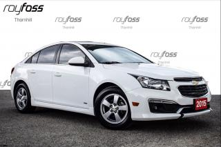 Used 2015 Chevrolet Cruze LT RS Pkg Sunroof Rear Cam for sale in Thornhill, ON
