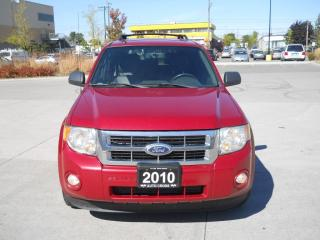 Used 2010 Ford Escape XLT, Leather, Sanroof, Auto, 4X4, 3/Y Warranty ava for sale in North York, ON