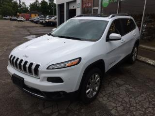 Used 2014 Jeep Cherokee Limited for sale in Alliston, ON