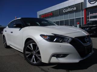 Used 2017 Nissan Maxima SL |ALLOYS | NAVI | PANORAMIC ROOF | WARRANTY for sale in St Catharines, ON