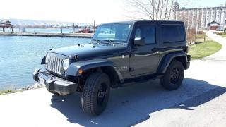 Used 2016 Jeep Wrangler Sahara for sale in Collingwood, ON
