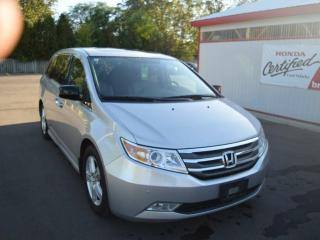 Used 2013 Honda Odyssey Touring Passenger Van for sale in Brantford, ON