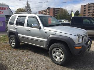 Used 2003 Jeep Liberty Sport for sale in Mississauga, ON