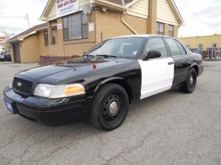 Used 2011 Ford Crown Victoria P71 Police Interceptor 4.6L V8 ONLY 109,000KMs for sale in Etobicoke, ON