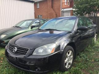 Used 2006 Nissan Altima 2.5 S for sale in Mississauga, ON