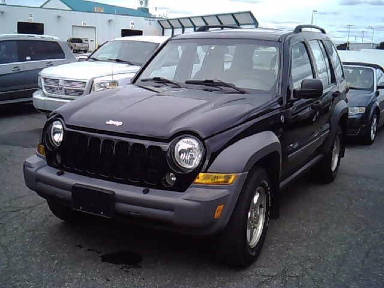 Photo of Black 2005 Jeep Liberty