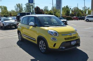 Used 2015 Fiat 500 L Trekking - Sunroof, Back Up Cam, Heated Seats for sale in London, ON