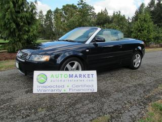 Used 2004 Audi A4 1.8T Cabriolet for sale in Surrey, BC