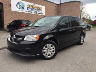 Used 2014 Dodge Grand Caravan SE - 49K - REAR STOW N'GO - BLUETOOTH for sale in Aurora, ON
