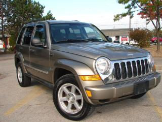 Used 2005 Jeep Liberty LIMITED for sale in Mississauga, ON