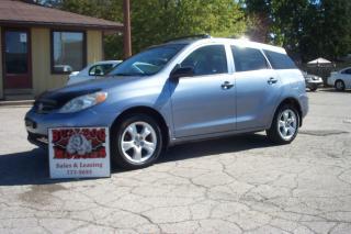 Used 2008 Toyota Matrix for sale in Glencoe, ON