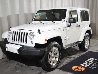 Used 2016 Jeep Wrangler Sahara for sale in Red Deer, AB