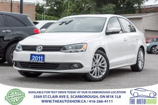 Used 2011 Volkswagen Jetta Sunroof Leather Alloys for sale in Caledon, ON
