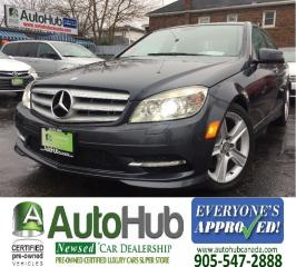 Used 2011 Mercedes-Benz C 300 4 MATIC-NAV-LEATHER-SUNROOF-BACKUP CAMERA for sale in Hamilton, ON