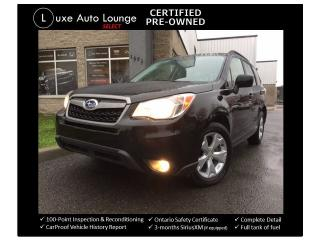 Used 2015 Subaru Forester i Convenience PZEV-AWD, BACK-UP CAMERA, ALLOYS! for sale in Orleans, ON