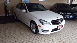 Used 2014 Mercedes-Benz C 300 C 300/ NO ACCIDENT/BACKUP CAMERA/NAVI/AWD/$24900 for sale in Brampton, ON