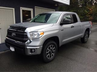 Used 2015 Toyota Tundra SR 5.7 4x4 double cab for sale in Parksville, BC