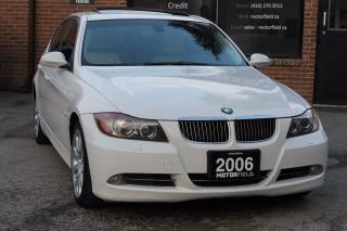 Used 2006 BMW 3 Series 330xi AWD *WHITE ON WHITE, ACCIDENT FREE* for sale in Scarborough, ON