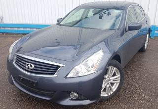 Used 2013 Infiniti G37X  AWD *LEATHER-SUNROOF* for sale in Kitchener, ON