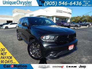 Used 2016 Dodge Durango R/T|AWD|LEATHER|SUNROOF|NAV|BLUETOOTH| for sale in Burlington, ON