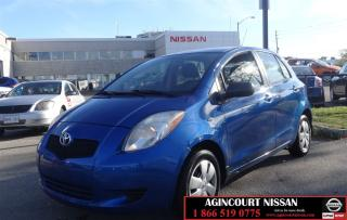 Used 2007 Toyota Yaris LE |AS-IS SUPER SAVER| for sale in Scarborough, ON