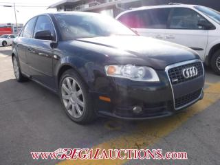 Used 2007 Audi A4 S-LINE 4D SEDAN QTRO 2.0T for sale in Calgary, AB