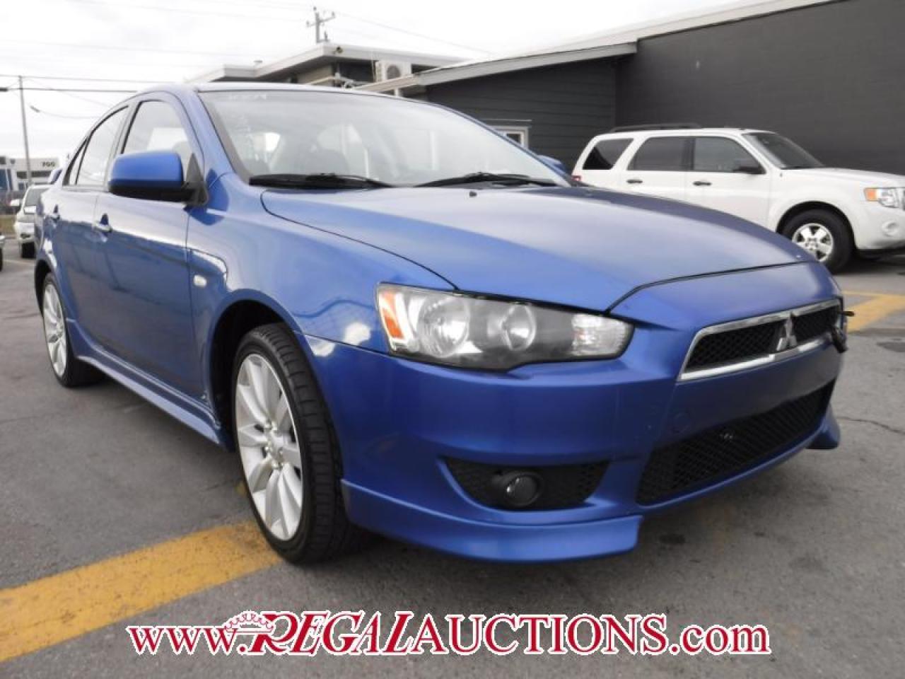 Photo of Blue 2009 Mitsubishi LANCER GTS 4D SEDAN