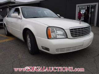 Used 2004 Cadillac DEVILLE BASE 4D SEDAN for sale in Calgary, AB