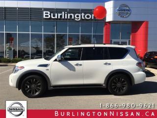 Used 2017 Nissan Armada Platinum for sale in Burlington, ON