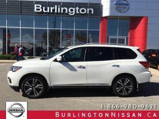 Used 2017 Nissan Pathfinder Platinum for sale in Burlington, ON