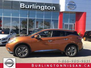 Used 2016 Nissan Murano SL for sale in Burlington, ON