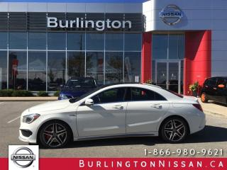 Used 2014 Mercedes-Benz CLA-Class 45 AMG for sale in Burlington, ON