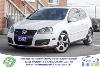 Used 2007 Volkswagen GTI GTI | FAHRENHEIT | NO ACCIDENT for sale in Caledon, ON