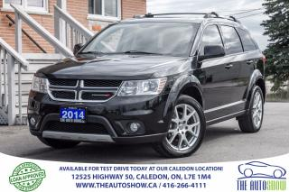 Used 2014 Dodge Journey Limited | SERVICE RECORD for sale in Caledon, ON
