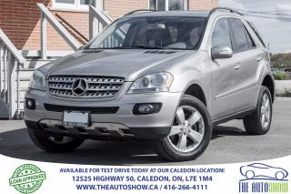 Used 2006 Mercedes-Benz ML500 5.0L | NAVIGATION | LEATHER | SUNROOF for sale in Caledon, ON
