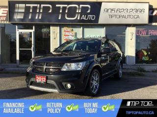 Used 2012 Dodge Journey R/T ** Nav, DVD, Leather, 7 Passenger, AWD, LOADED for sale in Bowmanville, ON