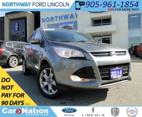 Used 2014 Ford Escape Titanium | NAV | REAR CAMERA | SUNROOF | TOW PKG | for sale in Brantford, ON