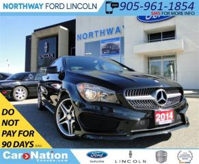 Used 2014 Mercedes-Benz CLA-Class CLA250 | AMG RIMS | HEATED LEATHER | for sale in Brantford, ON