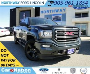Used 2017 GMC Sierra 1500 4X4 | TONNEAU COVER | BLUETOOTH | for sale in Brantford, ON