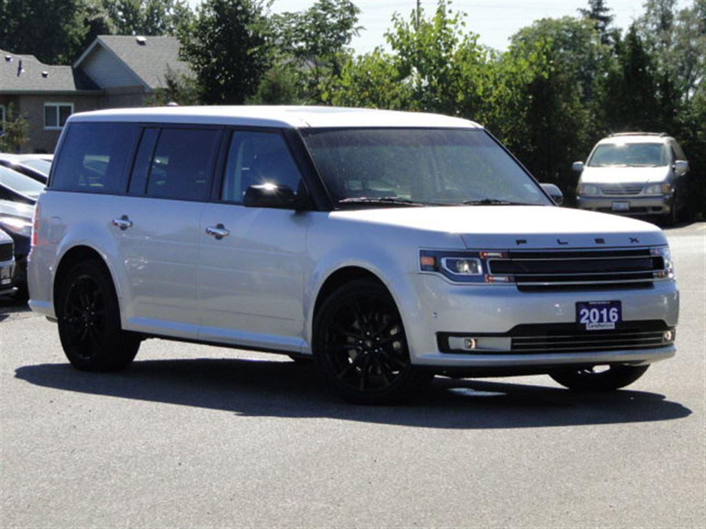 used 2016 ford flex limited 3rd row seating nav leather for sale in brantford ontario. Black Bedroom Furniture Sets. Home Design Ideas