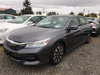 New 2017 Honda Accord Hybrid Touring for sale in Richmond, BC